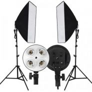 Studio Continuous Lighting Light Stand Softbox Kit