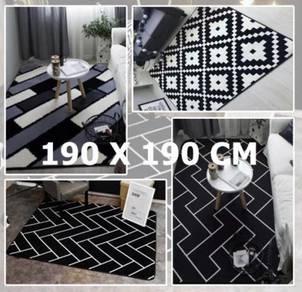 Super Soft Inspired Ikea Carpet 190cm*180cm