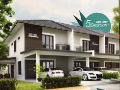 No Downpayment Matang Double Storey for Sale near Emart