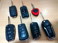 Custom Flip Remote Immobilizer Key for All Cars