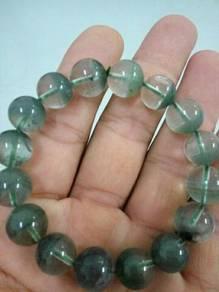 Rich green ghost crystal bracelet