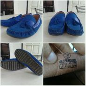 Tassel loafer kasut kulit