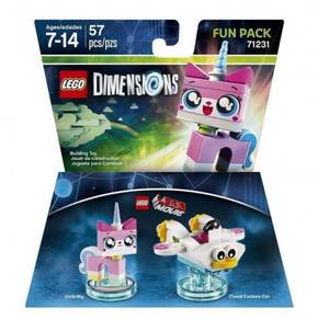LEGO Dimensions 71231 Unikitty & Cloud Cuckoo Car