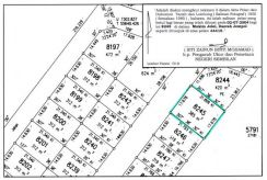 2 Bungalow lots for sale in Bahau (2 tanah banglo untuk dijual)