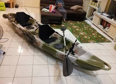 Tandem Double Seater Fishing Kayak