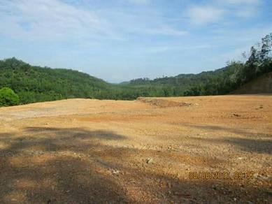 Tanah untuk dijual di kampung kesom,manir