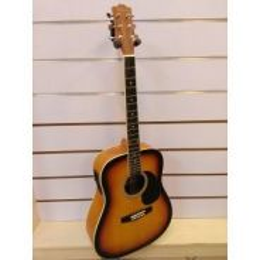 Morrison - 203041-4eq semi acoustic-sunburst