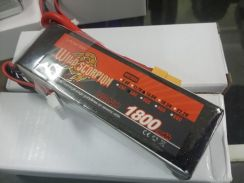 Wild Scorpion 14.8v 1800mah 30c 4S Lipo Battery