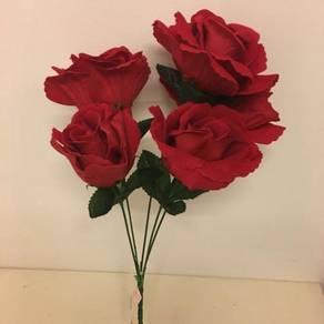 Premium Ref Rose ( Artificial/Bunga Plasu)