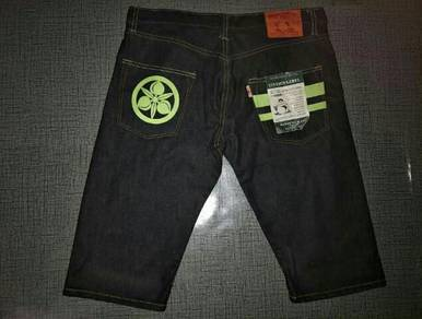 Momotaro selvage jeans shortpants (fake gred a)