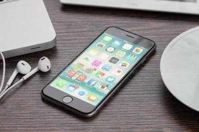 Apple Iphone 6 64GB Grey Full Set With Box