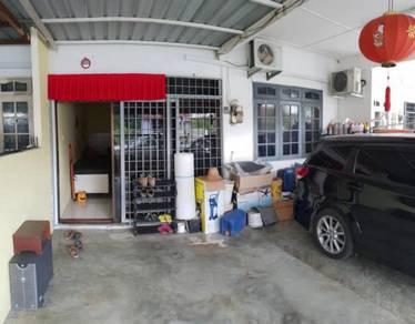 Renovated single storey at matang ,