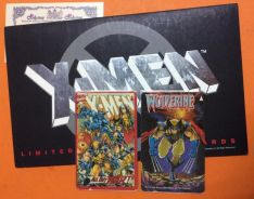 X-MEN LIMITED EDITION PHONE CARD 2 in 1 in folder