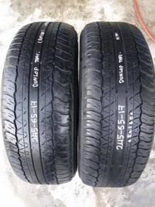 Tayar 245/65/Rim17 Dunlop 4x4