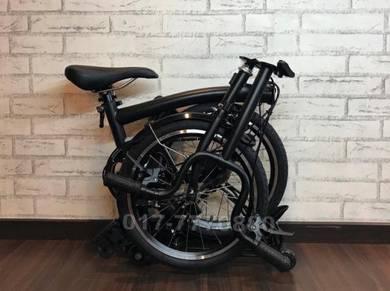 2018 3sixty folding bike 3speed internal bicycle
