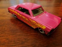 '63 Chevy Flames Mattel Hot Wheels Car