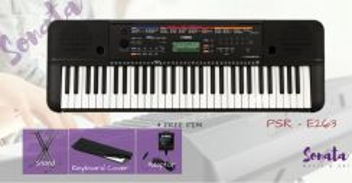 Yamaha PSRS263 Keyboard