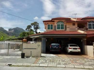 2 Storey Terrace at Taman Rapat Permai, Ampang, Gunung Rapat Ipoh