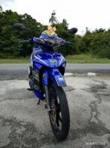 Yamaha 125zr Movistar Limited Edition
