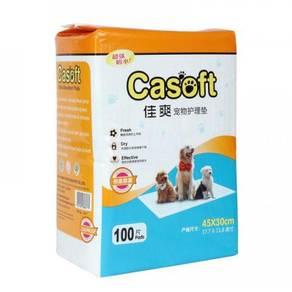 CASOFT WEE WEE PAD S 45 x 30cm (100pcs x 4 Packs)
