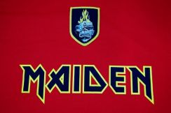 Jersey IRON MAIDEN 2014 WC Series SPAIN [L] NEW