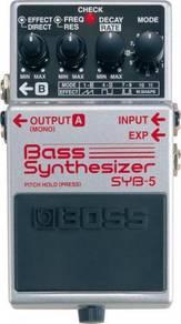 Boss syb-5 syb5 bass synthesizer