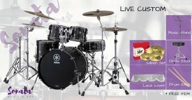 Yamaha Live Custom Acoustic Drum