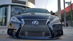 Lexus Is250 2008 F Sport Front Bumper Conversion