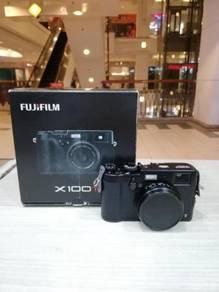 Fujifilm x100t digital camera - black (99% new)