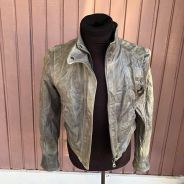 Authentic Preloved Calvin Klein Leather Jacket
