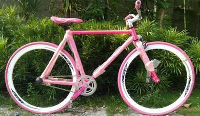 Basikal Fixie Harga kilang termurah Rm200 Sahaja