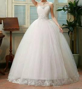 Wedding gown ready stocks