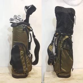 KP GOLF- Wilson full set iron driver putter bag