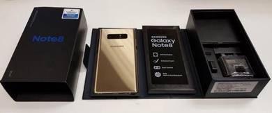 Samsung Galaxy Note 8, Ori SME, Fullset, Gold
