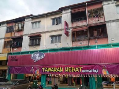 Cheras shop apartment first floor desa ria balakong
