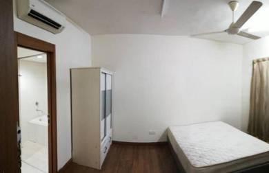 Fully Furnish Master Room Titiwangsa Sentral Condo Near LRT MRT