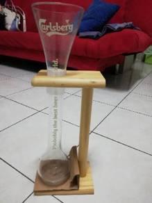 Carlsberg long glass