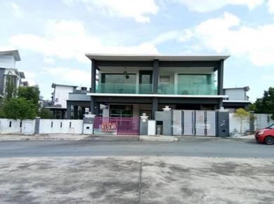 2 Storey Semi Detached House CORNER UNIT - Tmn Warisan Puteri, Sbn