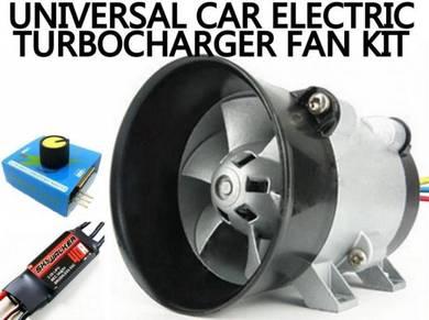 Car 12V Electric Turbo Fan Turbocharger Boost fan