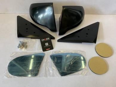 Honda Civic EJ EK 4 Door Spoon Side Mirror Black