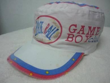 Topi vintage game boy clube's round painter cap