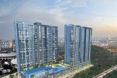 New condo project! 3+1 bedrooms dgn private lif in Kempas Utama