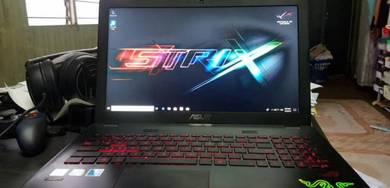 Laptop rog gl552v gamming