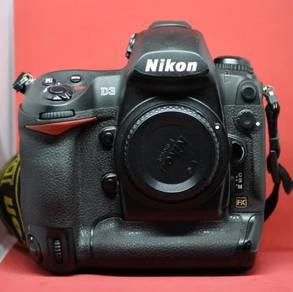 Nikon d3 body only