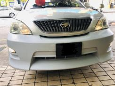 Toyota harrier acu30 Trd Zues front bumper bodykit