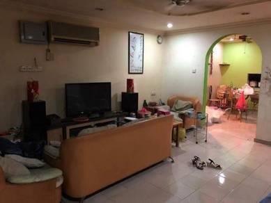 105%loan [fullyextend] 2 storey house taman sentosa klang