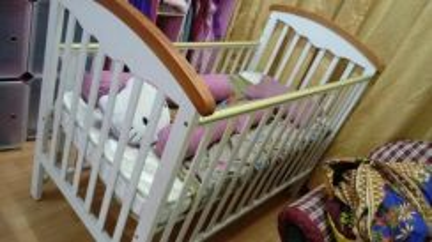Baby Cot kayu