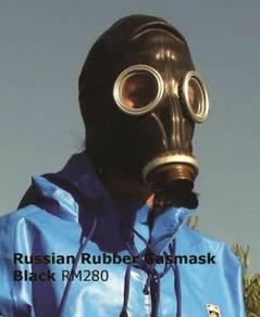 Russian Rubber Gasmask / Rubbermen Rubber Fetish G