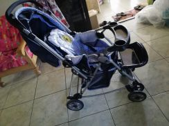 Baby stroller need to let go