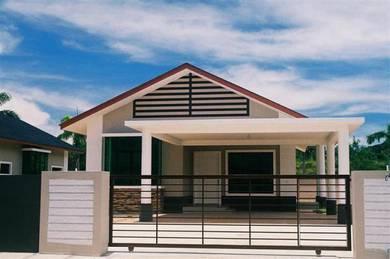 BUMI shj [100% LOAN] 1k dpt 40'x74' SEMI-D 4 Bilik Pulau Indah